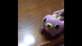 Oshaberi Doubutsu Talking Animal Ball (Cat), Funny Squeaky Toy
