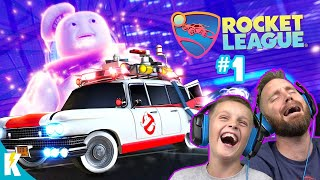Rocket League Radical Summer Event #1 with GHOSTBUSTERS! KIDCITY GAMING