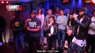Team BS   1,2,3   Live   C'Cauet sur NRJ