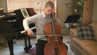 Sarabande from J.S. Bach Cello Suite no. 1 in G major