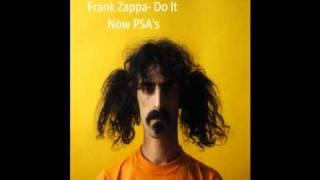 Frank Zappa- Do It Now PSA's