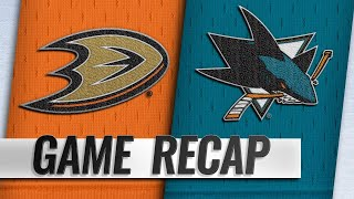 Silfverberg, Rakell lead Ducks to 5-2 win in opener
