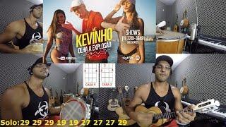 """Video Aula - OLHA A EXPLOSÃO """"Mc Kevinho"""" Versão Pagode - Cavaco"""