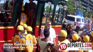 Jackie Robinson West Chicago Parade