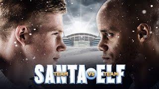 TEAM SANTA VS TEAM ELF | Manchester City Christmas Trailer
