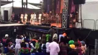 Brotherly Love performing at the African American Festival in Baltimore (part 2)