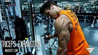 NEW WORKOUT - TRICEPS EXHAUSTION - marcfitt.com