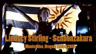 Lindsey Stirling - Senbonzakura live (Uruguay)