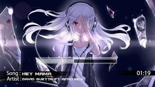 Nightcore - Hey Mama (Aron Scott Remix)