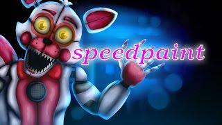 Speedpaint- Funtime Foxy (FNAF SL)