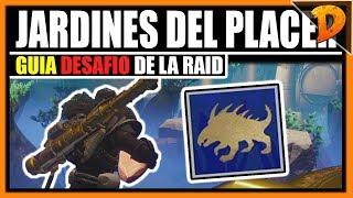 Destiny 2   Guía   Cómo completar el DESAFIO de los Jardines del Placer (Perros) [RAID: Leviathan]