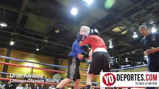 Uriel Alvarez Chicago Citywide Boxing 2014