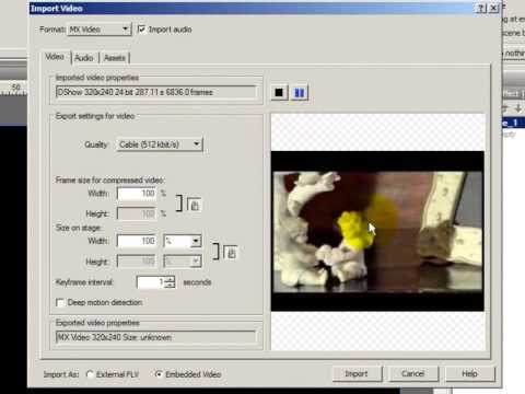 Swishmax ile video import