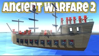 Ancient Warfare 2 Huge Update! - Pirate Ship Attack! - Let's Play Ancient Warfare 2 Gameplay
