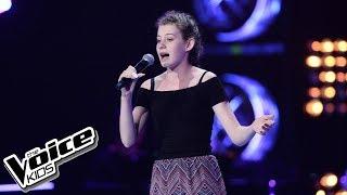 """Ania Jensen – """"Counting Stars"""" – Przesłuchania w ciemno – The Voice Kids Poland"""