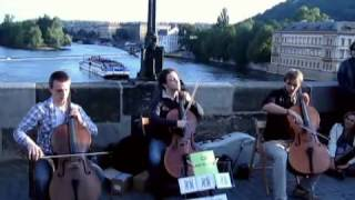"Prague Cello Quartet - ""Nothing Else Matters"" (metallica cover)"