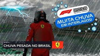 F1 2019 - CORRENDO DEBAIXO DE UMA TEMPESTADE NO BRASIL (Português-BR) #F12019