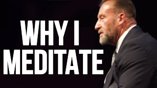 How MEDITATION helps me | DORIAN YATES Live Q&A at BAFTA - Movie World Premiere