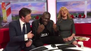 Stormzy Drops 'Shut Up' In BBC Studio
