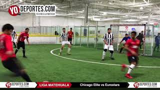 Chicago Elite vs Eurostars Liga Matehuala Semifinal Primera Division en Melrose Park