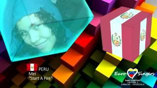 Mei - Start A Fire (Peru) - Euro Singers Fans Contest 2 cover