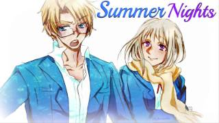 HD | Nightcore - Summer Nights [Grease]