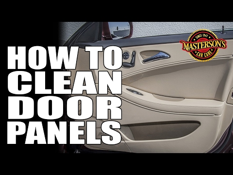 How To Clean Dirty Door Panels – Masterson's Car Care – Interior Detailing