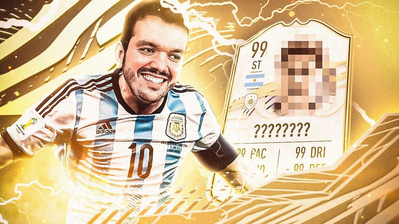 Gaules - PEGAMOS NOSSO PRIMEIRO ÍDOLO NO FIFA 21!
