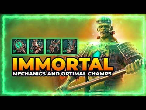 IMMORTAL Set | Mechanics & Optimal Champs | RAID Shadow Legends