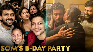 Video : Som's Birthday Bash With Biggboss Contestants 😍 | Archana, Rio, Bala, Shivani| Vijay TV