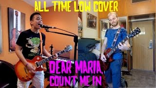 Dear Maria, Count Me In - All Time Low (Dual Guitar Cover)