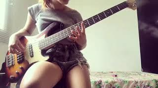 Forro no baixo (ninguém e de ferro) glecy bass. Irmã❤👏