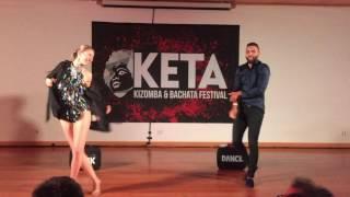 EL Cruz & Nadège KB - Urban Kiz Show @ KETA Kizomba & Bachata Festival 2017
