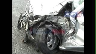 Një 'Benz' i aksidentuar i braktisur pranë Rinasit, Dëshmia: Nga makina u nxorën 2 trupa