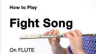 FIGHT SONG (Rachel Platten) for FLUTE