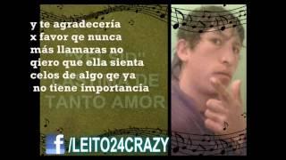 """Lastima De Tanto Amor - Yelsid """"LIVE - LETRAS"""" 2013"""