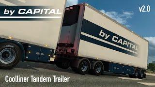 [ETS2 v1.22] Tandem Nordic Trailers - ByCapital v2.0