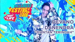 "DEVANO DANENDRA - ""MANTAN TERINDAH"" LIVE AT DREAMERS FESTIVAL 2018"