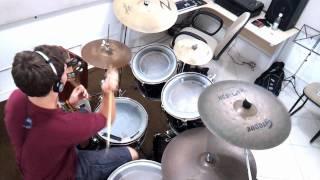 Arctic Monkeys - Old Yellow Bricks (drum cover by David Heimbucher)
