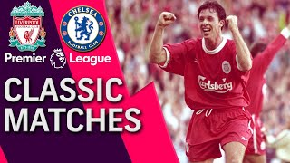 Liverpool v. Chelsea | PREMIER LEAGUE CLASSIC MATCH | 10/5/1997 | NBC Sports