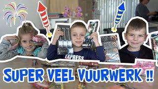 MEGA VEEL VUURWERK AFSTEKEN !! - KOETLIFE VLOG #550