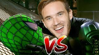 Spider-Jack Vs Green Pewds