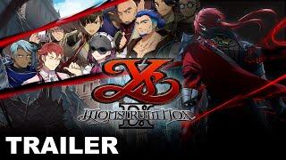 Ys IX: Monstrum Nox story trailer