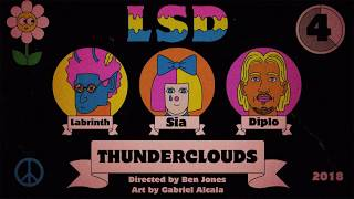LSD - Thunderclouds - Coming Thursday