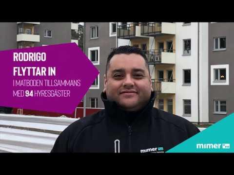 Rodrigo och 94 hyresgäster flyttar in i Matboden