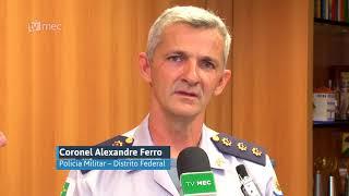 Ministro recebe medalha Tiradentes da Polícia Militar do DF
