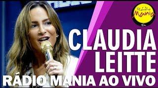 🔴 Radio Mania - Claudia Leitte - Falando Sério