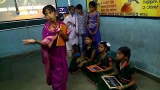 role playing savitribai phule  sarthak school, shahapur