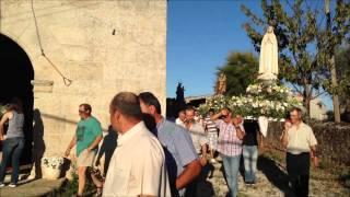 Primeira entrada de São Nuno na igreja de Alvites, 10.8.2013