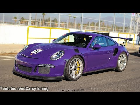 Ultraviolet Porsche 911 991 GT3 RS - On Board, Flat Out!